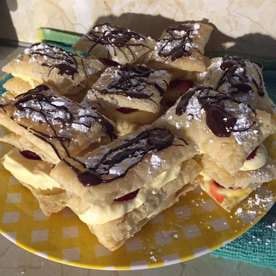 French Vanilla Slices (Mille-feuilles) Pete