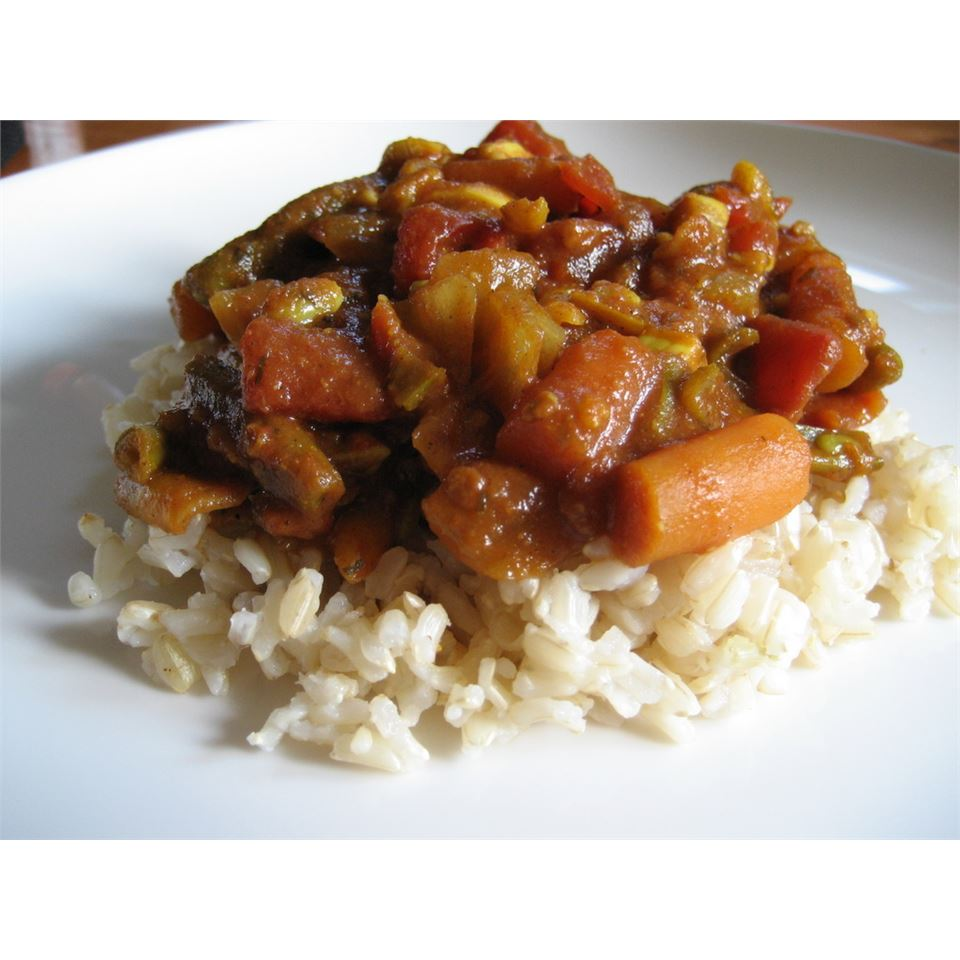 Quick and Easy Vegetable Curry Mattie