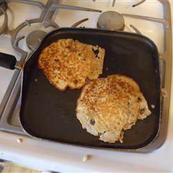 Overnight Raisin Oatmeal Pancakes scott m