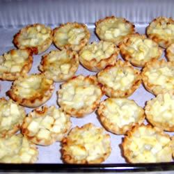Blue Cheese and Pear Tartlets Heather