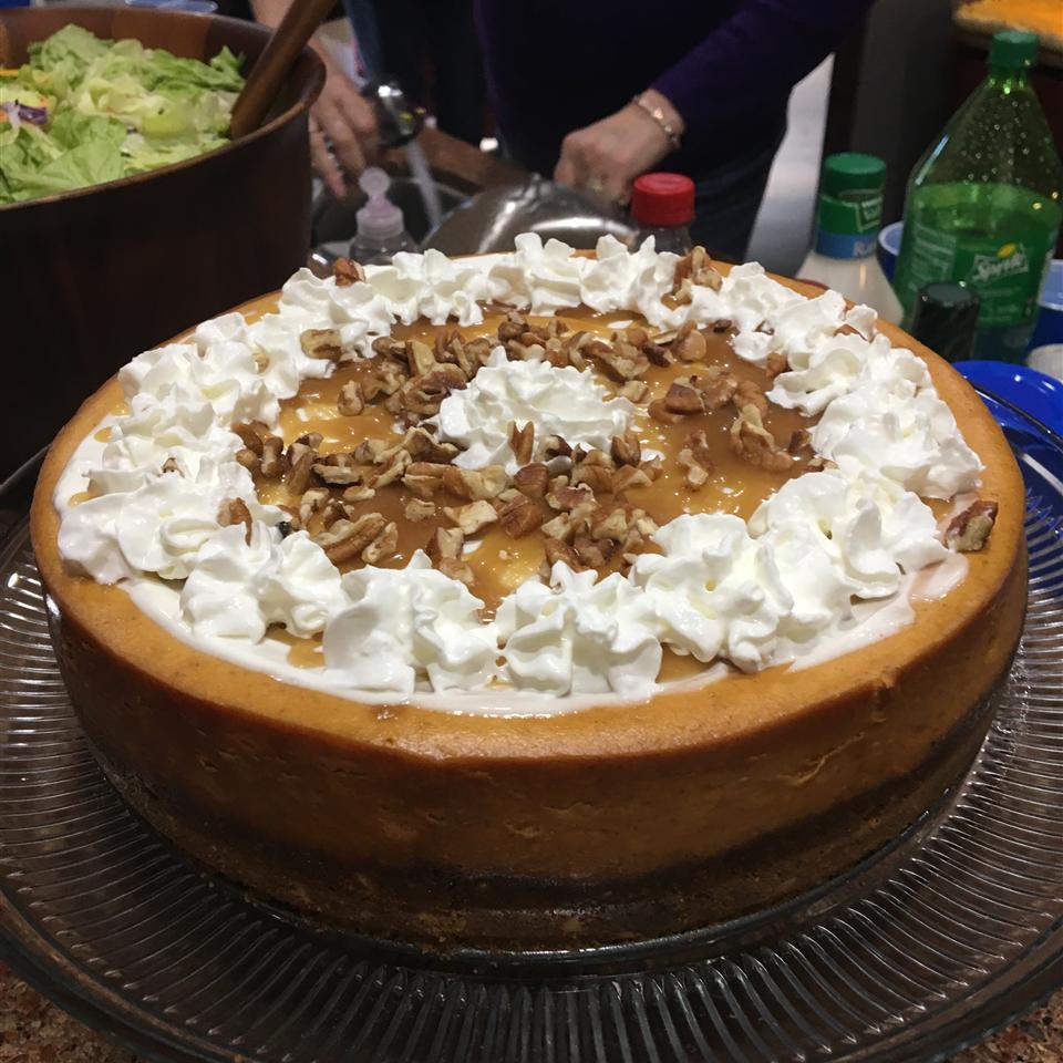 Waldorf's Sour Cream Cheesecake Cynthia Mouton