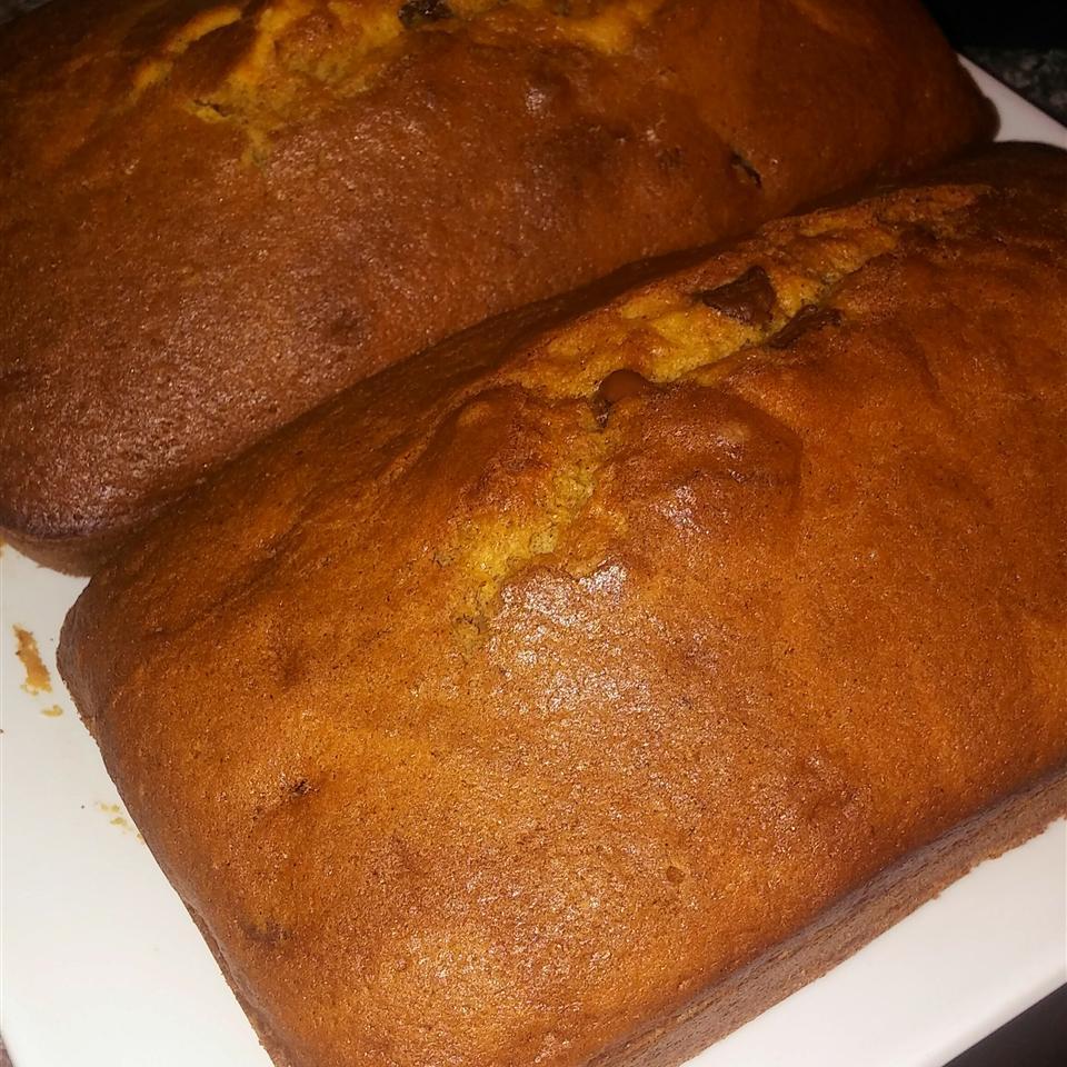 Chocolate Chip Pumpkin Bread Kristina Waring