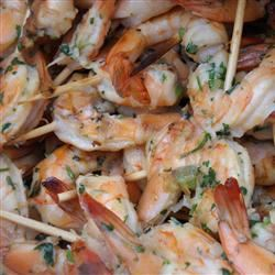 Spicy Coconut and Lime Grilled Shrimp Marisa R.