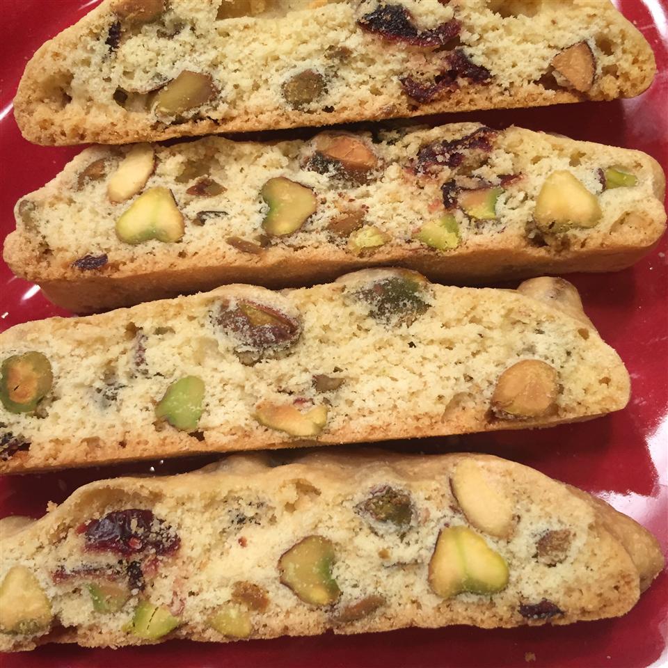 Cranberry Pistachio Biscotti Melinda:)