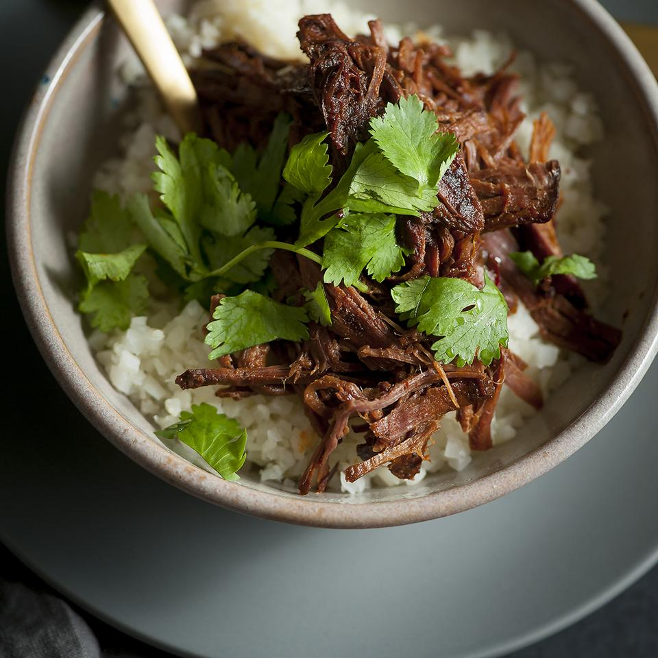Slow Cooker Korean BBQ Pork Bowl Angela Sackett  Superhotmama