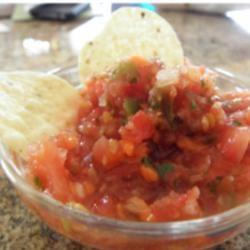 Salsa de Eppinette: A Three-Pepper Inferno