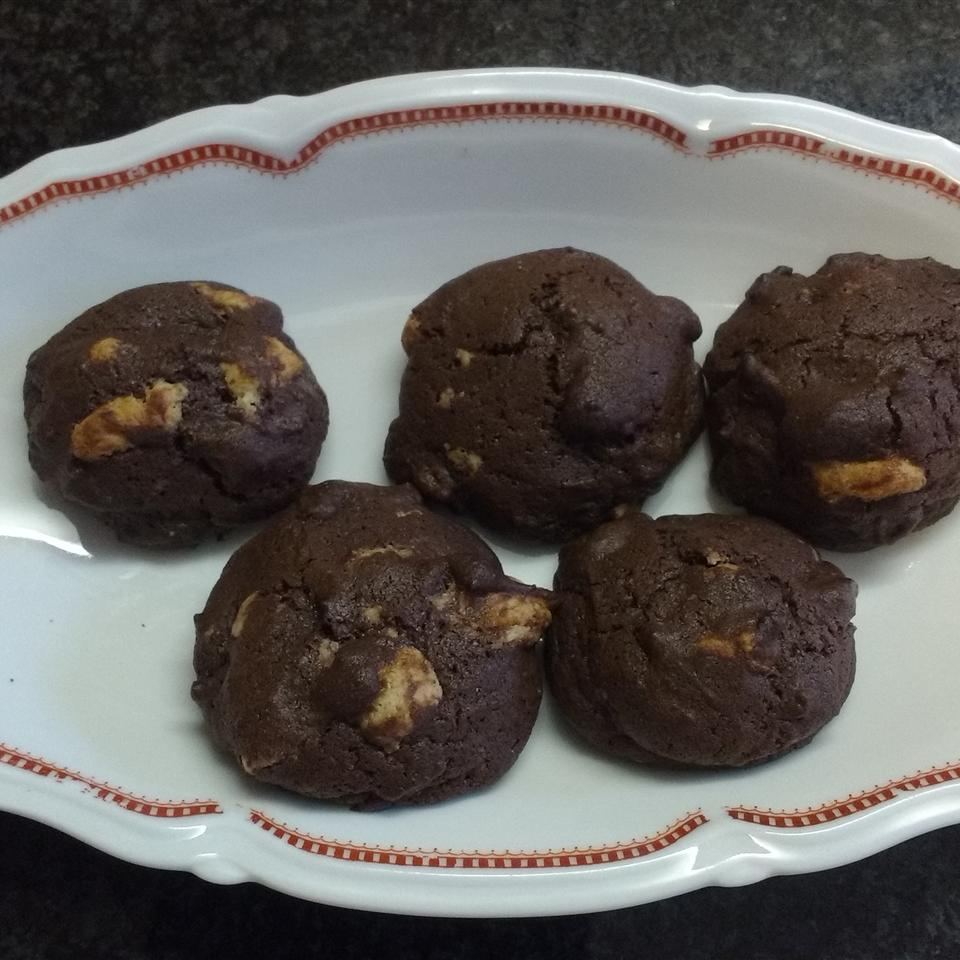Chocolate and Marzipan Cookies