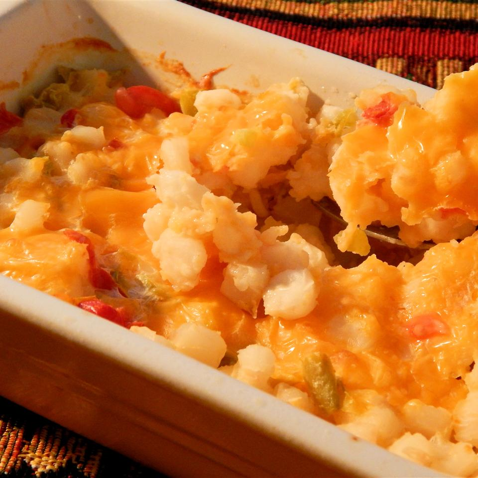 Hominy with Cheese Linda T
