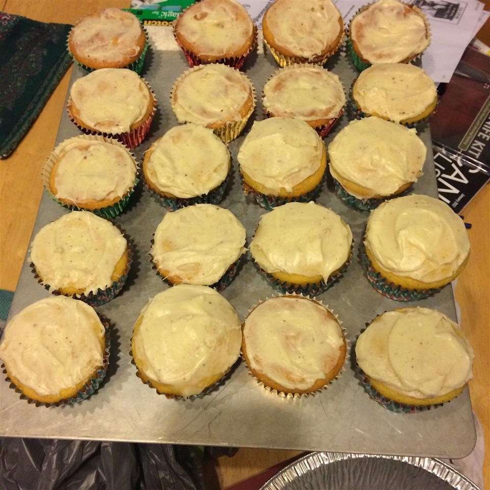 Eggnog Cupcakes Zoe H.