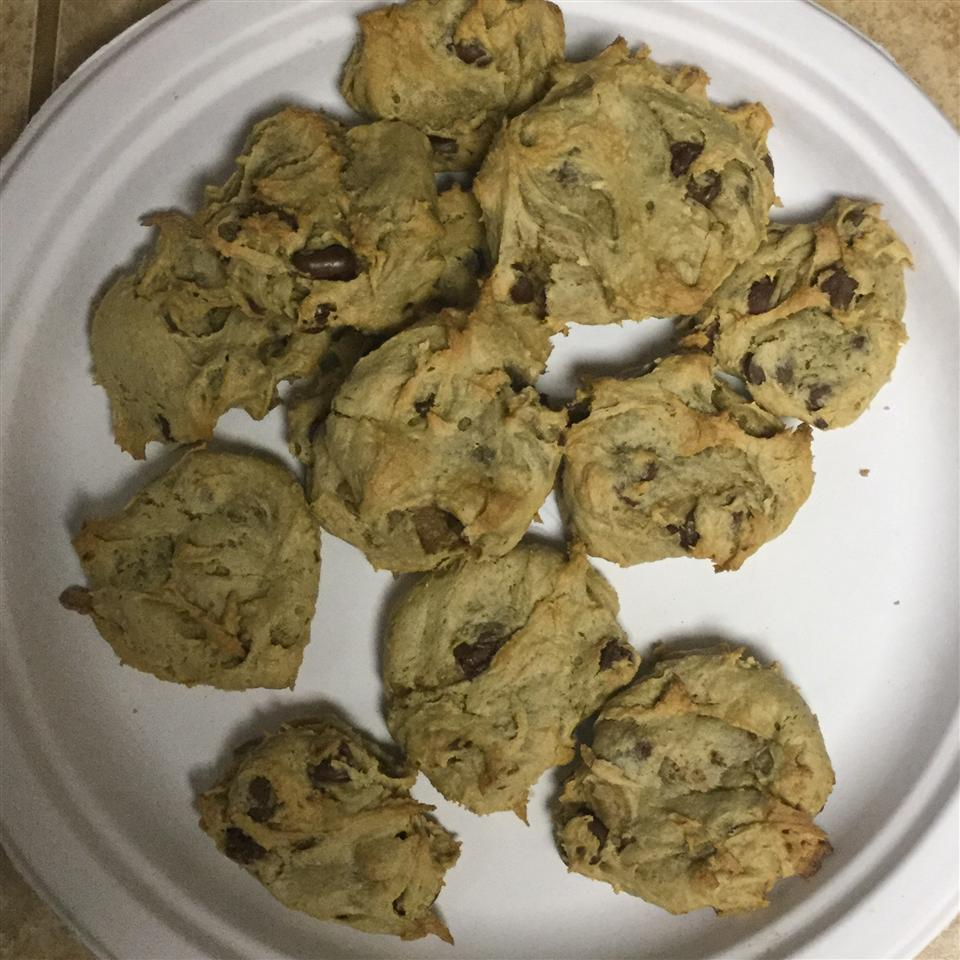 Chocolate Chip Cookies with Avocado