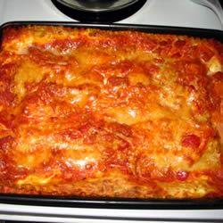 Spicy Vegetarian Lasagna