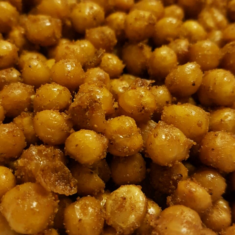 Oven-Roasted Chickpeas