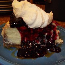 White Chocolate Blueberry Cheesecake Erica Hodges