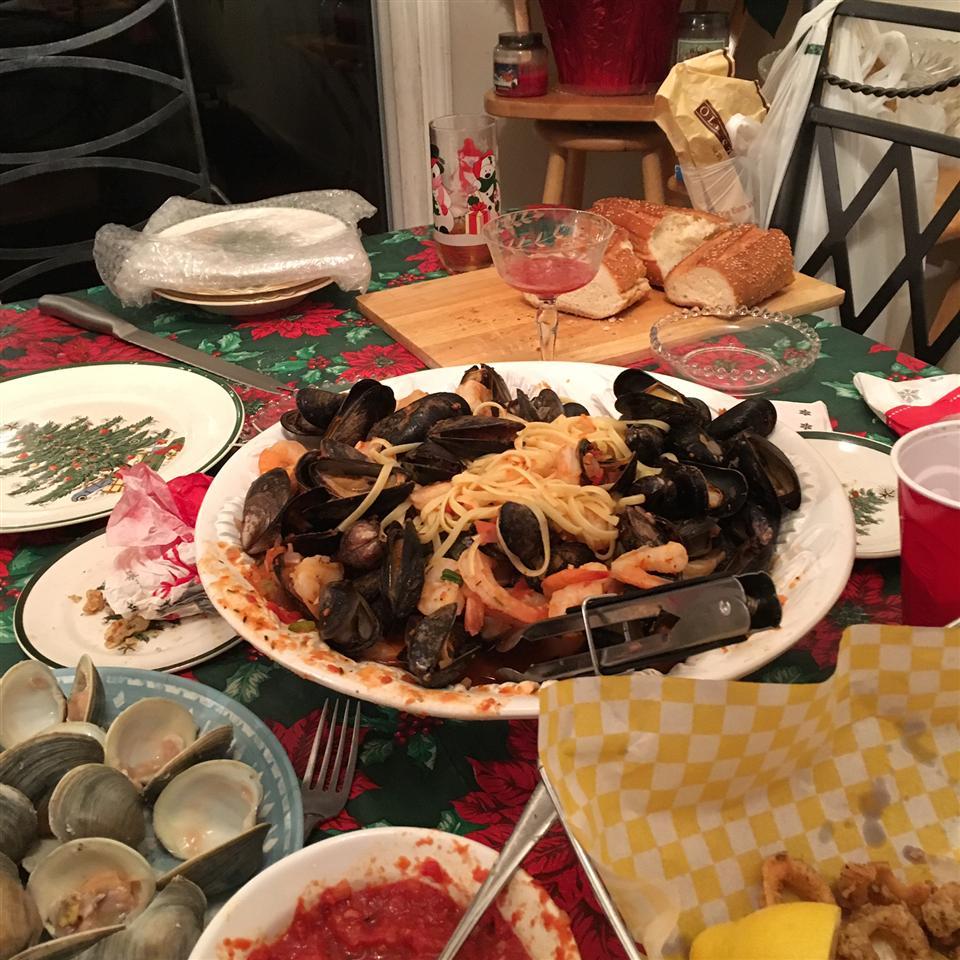 Seafood Marinara Pasta Gina