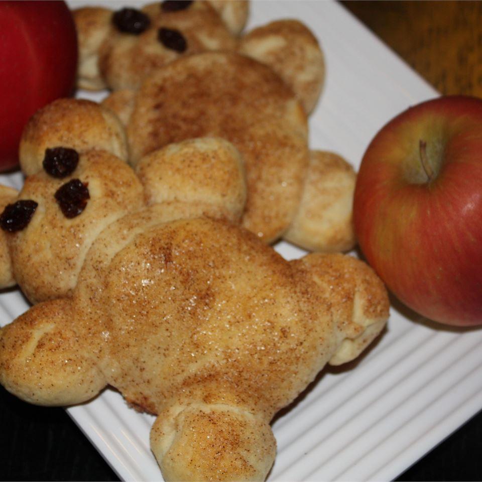 Teddy Bear Biscuits footballgrl16