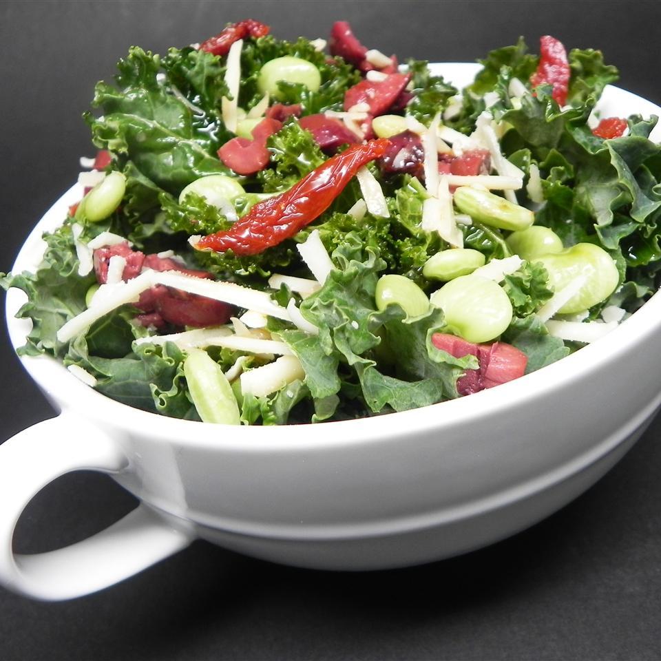 Quick Smoky Kale Salad