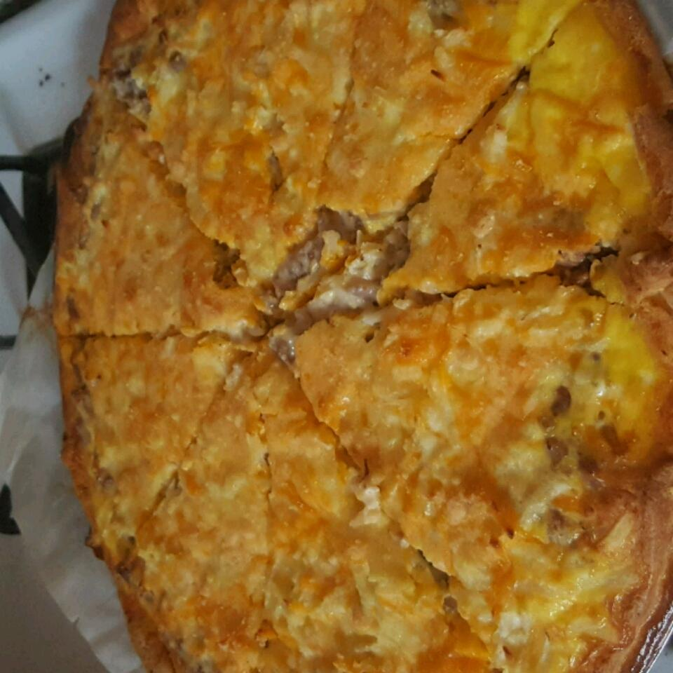 Breakfast Pizza I