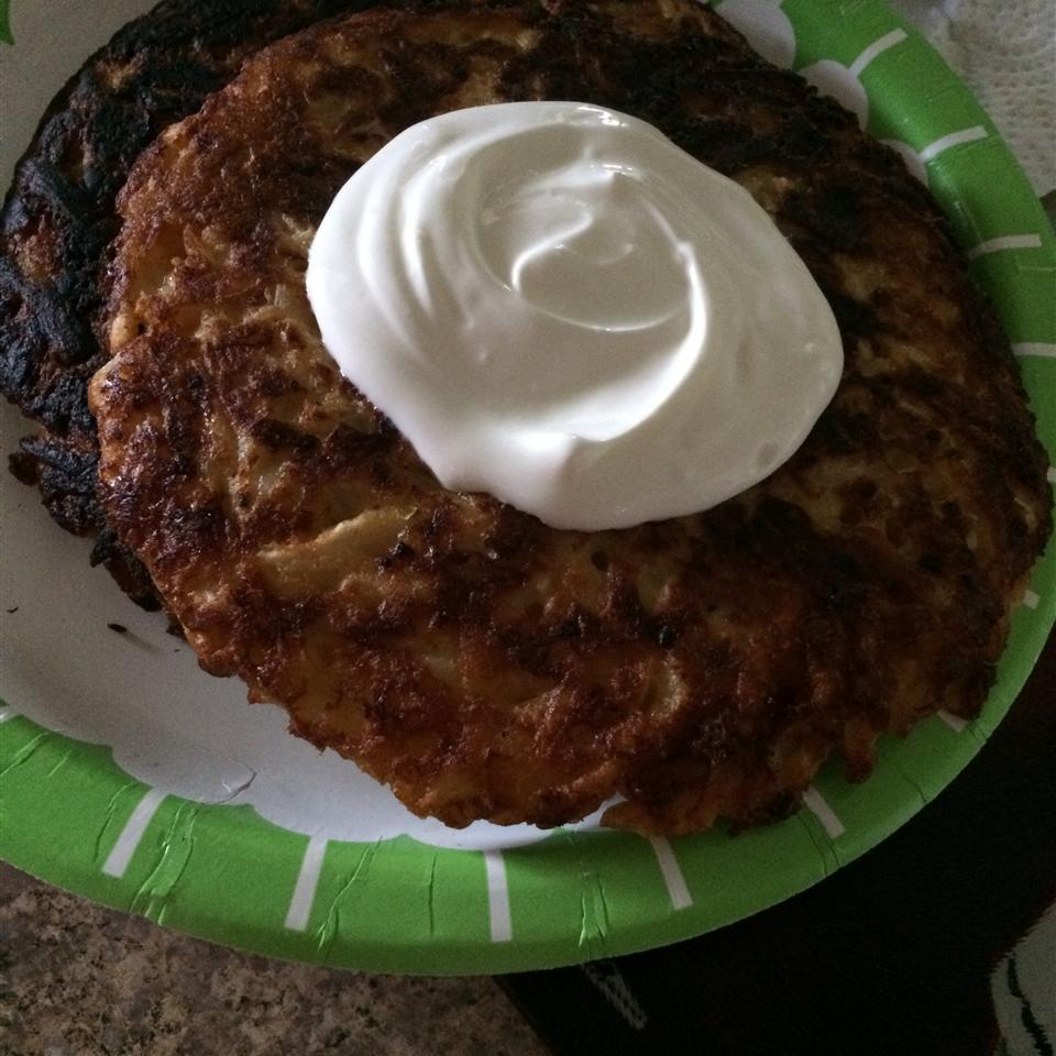 Potato Pancakes A Mama's dinner menu