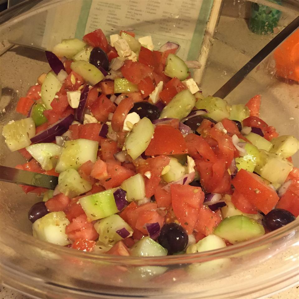 Good for You Greek Salad Frances