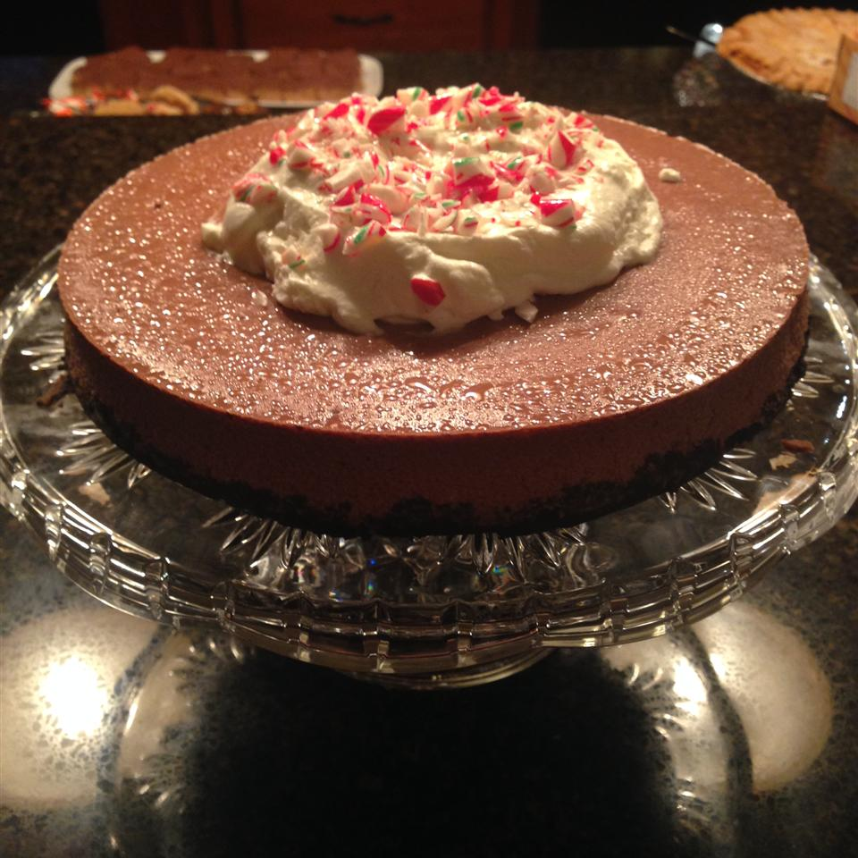 Chocolate-Peppermint Cheesecake Justine Danen