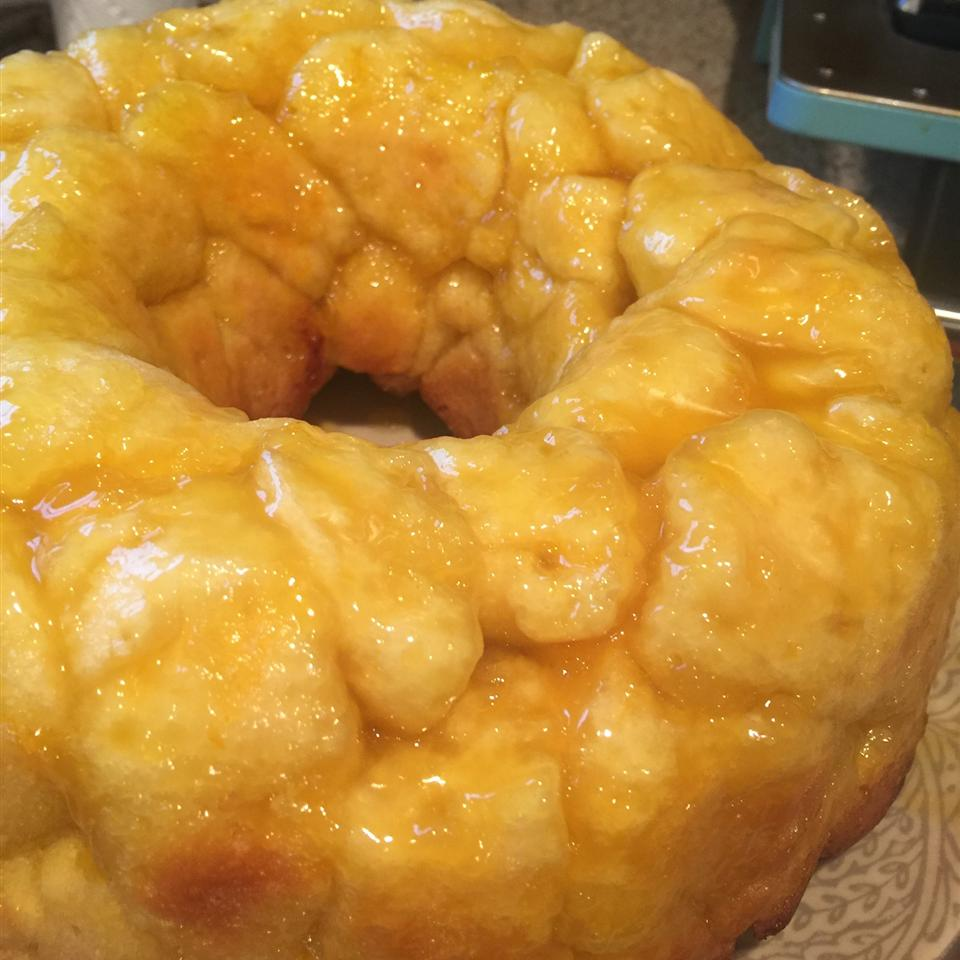Orange Monkey Bread Michelle Finley Baker