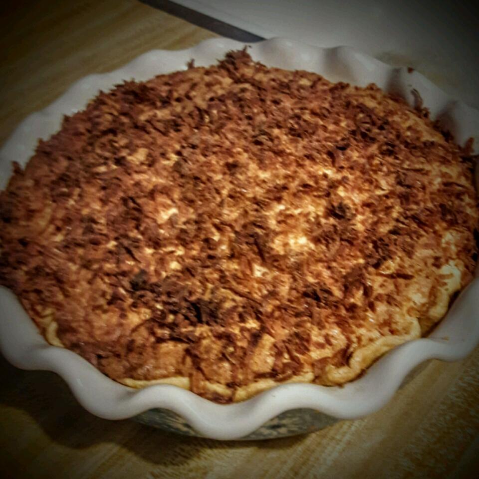 Coconut Custard Pie I