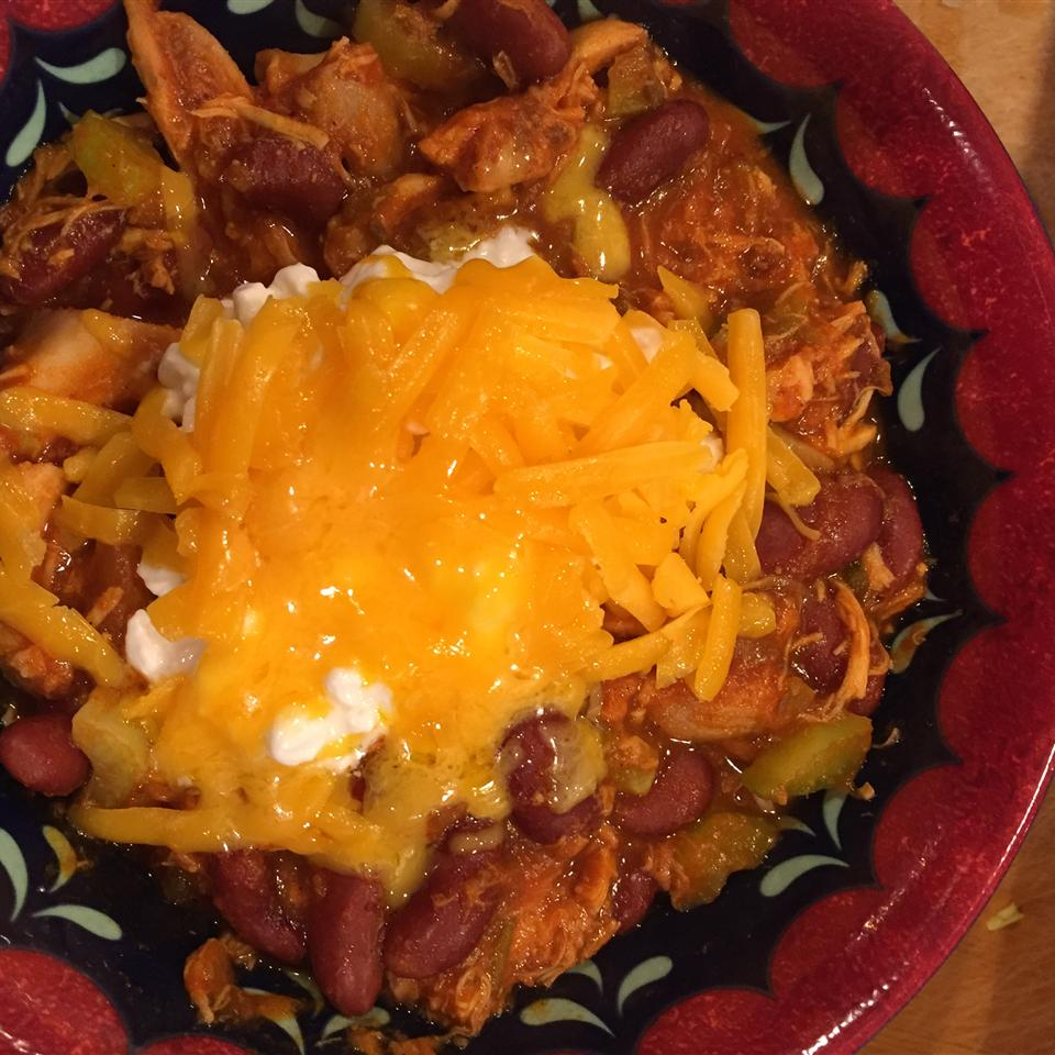 Super Easy Chicken Chili Susie Gute Wall