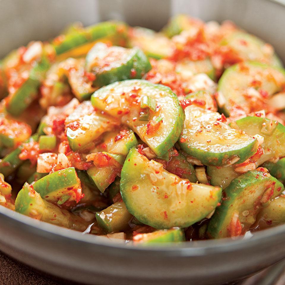 Quick Cucumber Kimchi Jamie Purviance