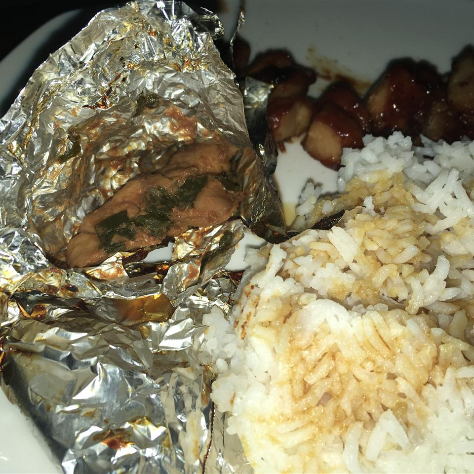 Foil-Baked Chicken Dominica Michele Gonzales