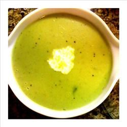 Cream of Asparagus Soup I amberwrites