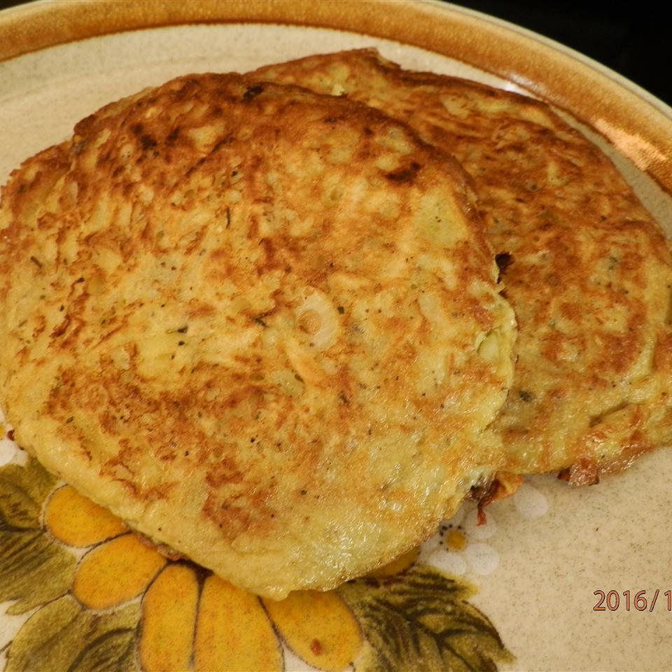 Simple Parsnip Pancakes catlady