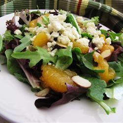 Mandarin Orange, Gorgonzola and Almond Delight MUNCH5150