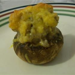 Sausage Stuffed Mushrooms II MrsJabbar Hernandez