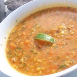 Ash-e-jow (Iranian/Persian Barley Soup)