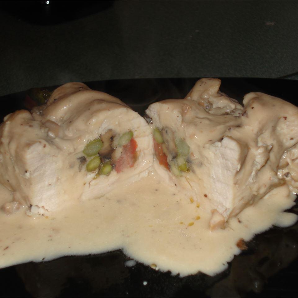 Chicken and Portobello Rollups Rebecca