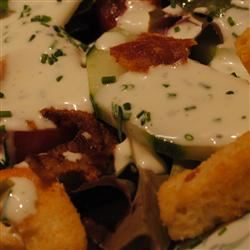 Buttermilk and Chive Salad Dressing Pam Ziegler Lutz
