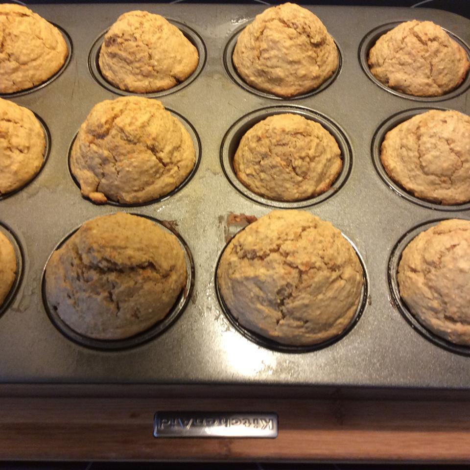 Carrot Cake Muffins Caroline Verleyen