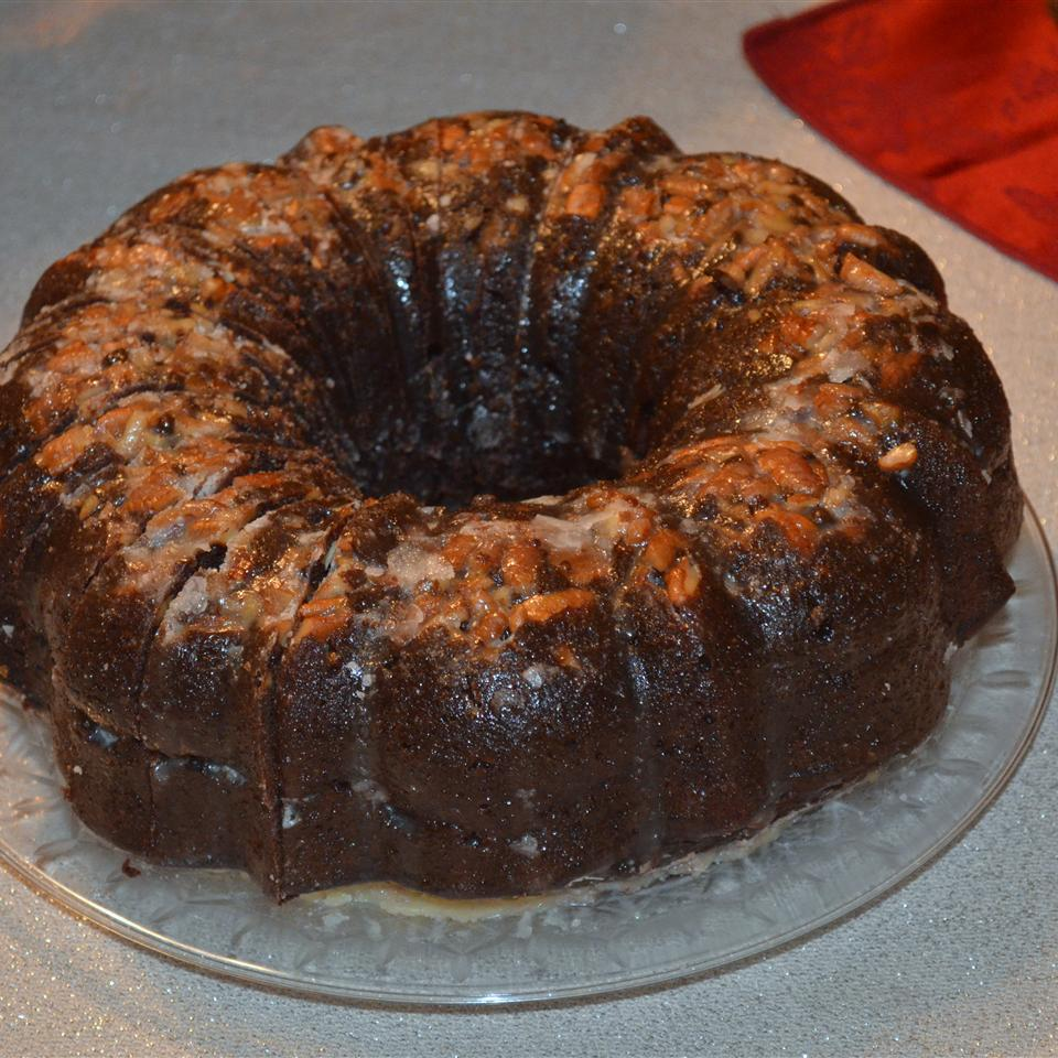 Chocolate Rum Cake CuteElke