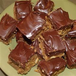 Chocolate Peanut Butter Bars IV words_music