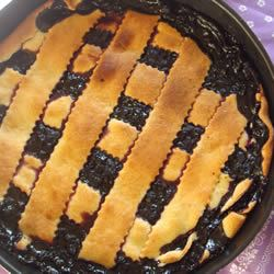 Blackberry and Blueberry Pie Caddy