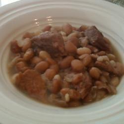 Southern Ham and Brown Beans Jennifer Ryan Frye