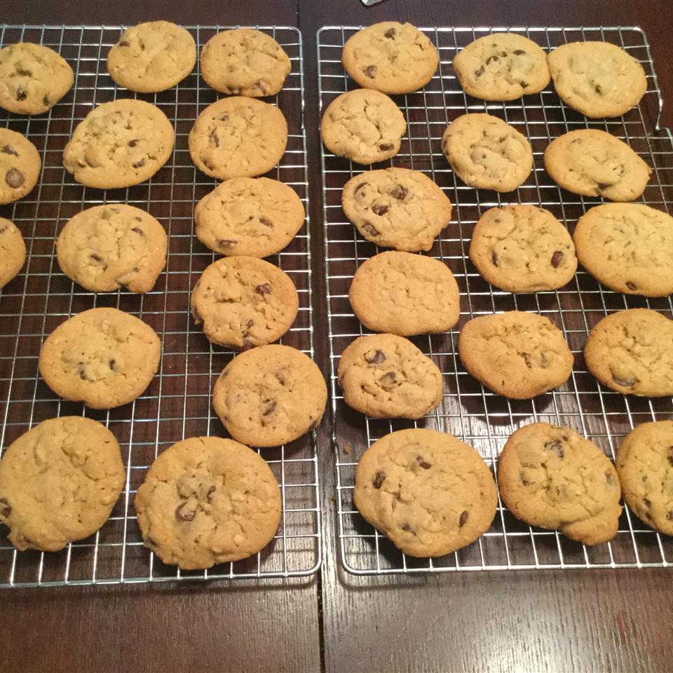 Toffee Chocolate Chip Cookies Haley counts