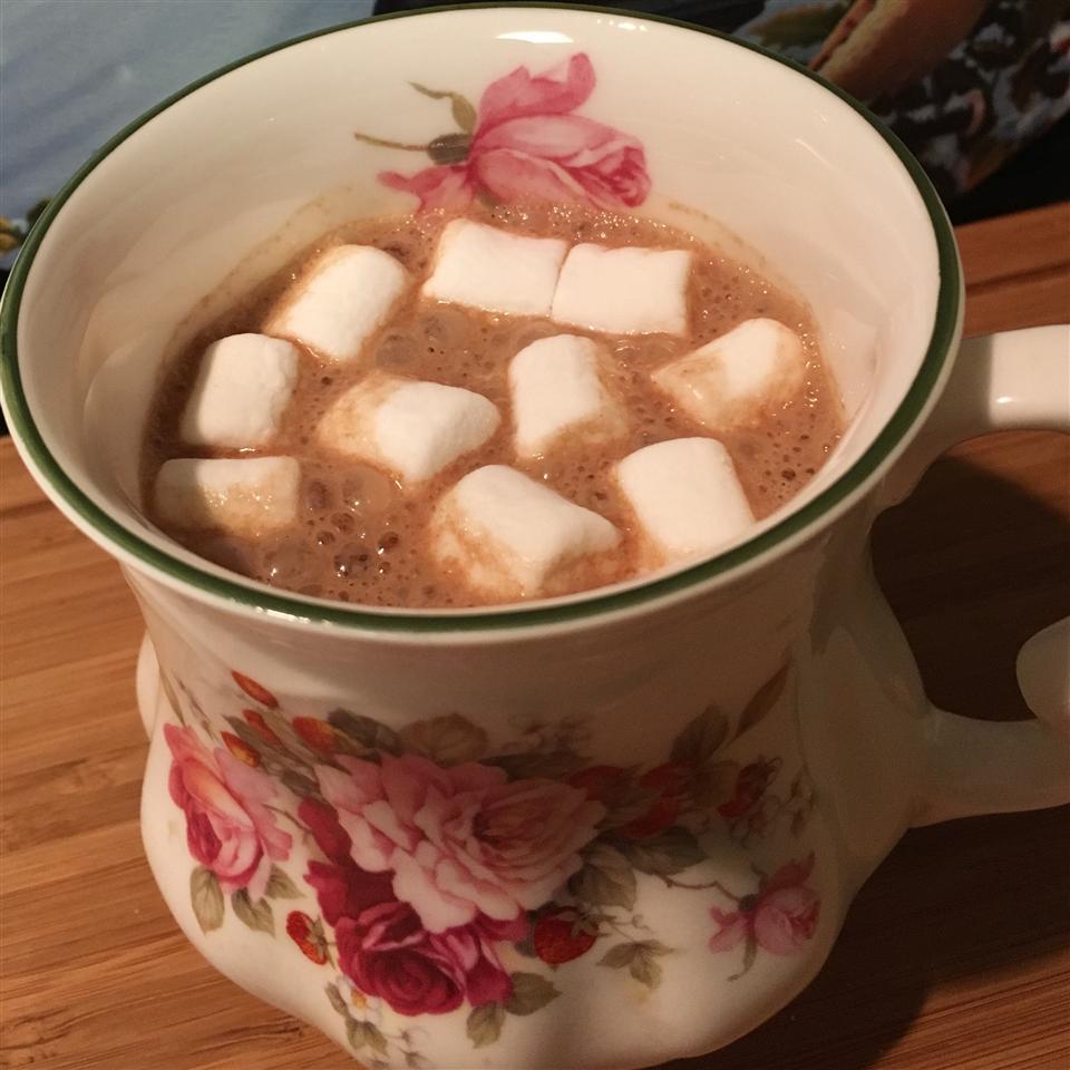 Almond Butter Hot Chocolate