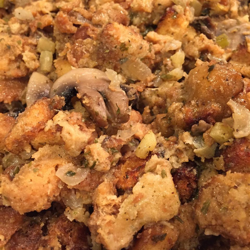 Mushroom Stuffing Aaron A