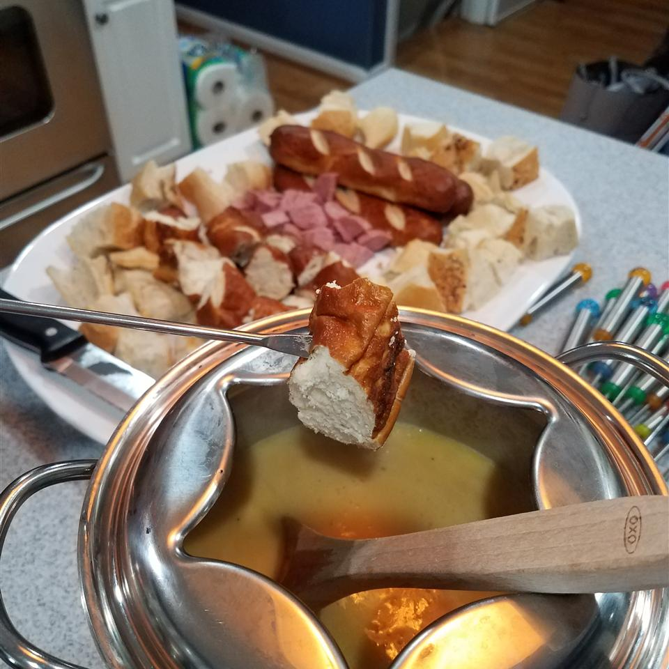 Beer Cheese Fondue Dana Buinickas
