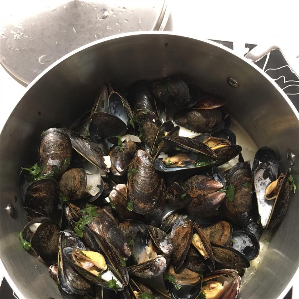 Drunken Mussels Jessica Ng