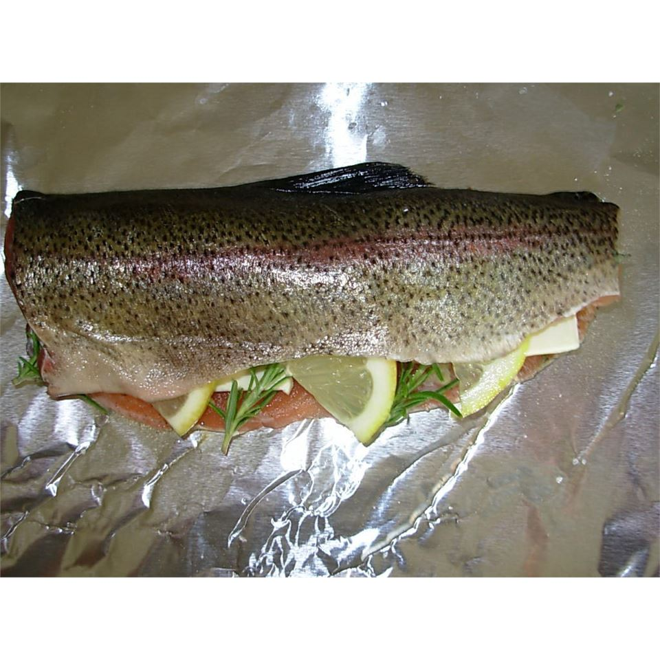 Grilled Montana Trout