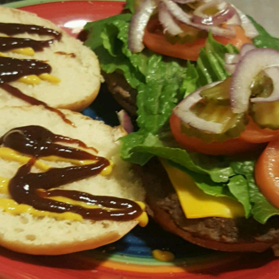 Homemade Hamburger Buns Nathan Hawthorne