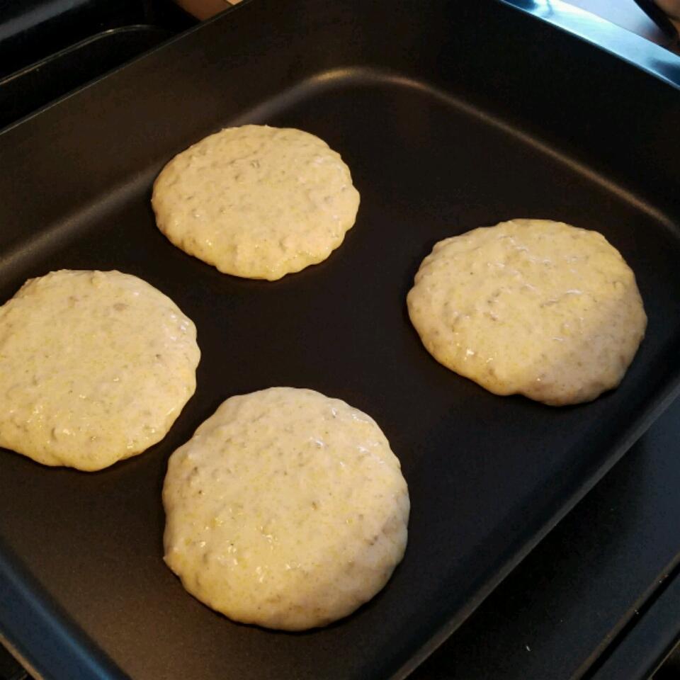 Buttermilk Oatmeal Pancakes Lacey Golden Huntsman