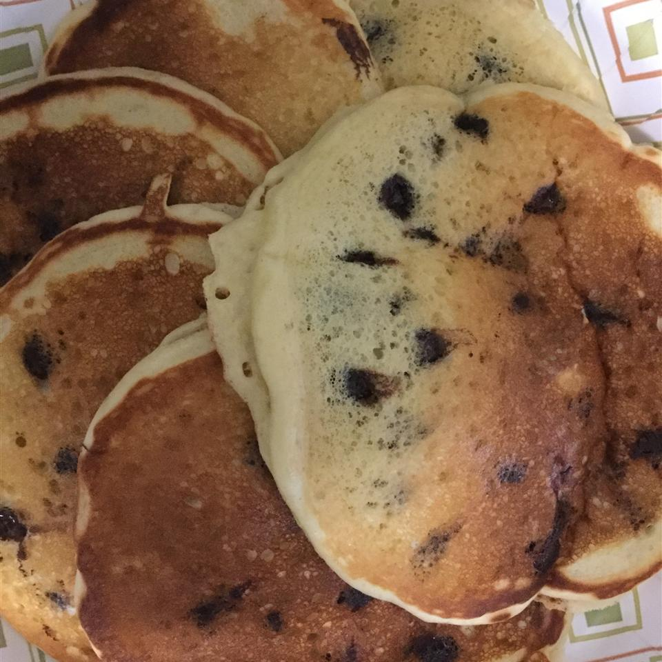 Kefir Chocolate Chip Pancakes Carey